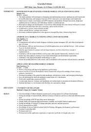 resume format exles documentation of android android application developer resume sles velvet jobs