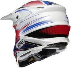 dot motocross helmets shoei vfx w sear off road mx dirt bike helmet dot snell m2015 ebay