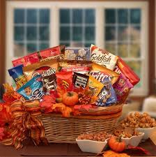 snack baskets happy fall snack gift basket at gift baskets etc