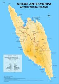 Greek Islands Map Antikythera Island Kythira Island Travel Guide Greece