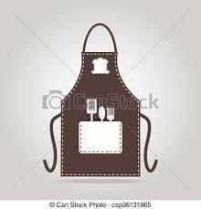 tablier de cuisine icône tablier cuisine cuisine signe tablier cuisine clip