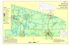 Wisconsin County Maps by Vilas County Comprehensive Planning