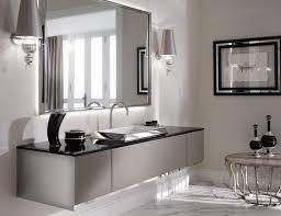 modern luxury long bathroom vanity have single sink stainless