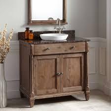 bathroom black granite countertop single rustic bathroom vanities