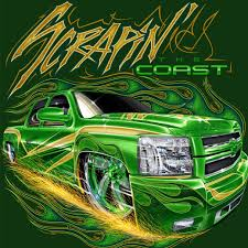 monster truck show biloxi ms 2016 show shirt scrapin the coast pinterest