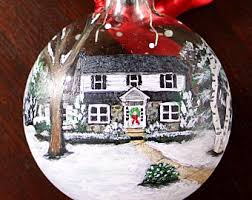 house ornament etsy