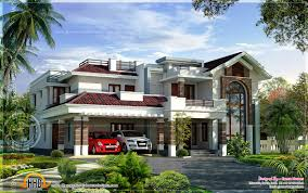Townhouse Designs And Floor Plans Kerala Home Design And Floor Plans Modern Beautiful Home Elegant