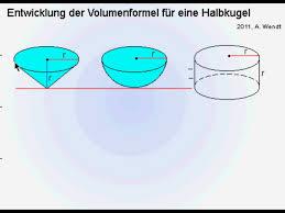 kugeloberfl che berechnen volumenformel einer kugel vereinfacht