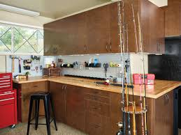 house tools fishing gear and more with custom garage cabinets house tools fishing gear and more with custom garage cabinets complete with a
