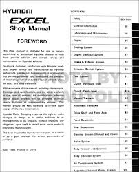 hyundai excel wiring diagram database wiring diagram
