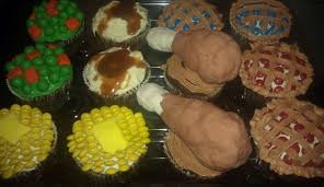 Thanksgiving Dinner Cupcakes Dental Cupcakes Cakecentral Com