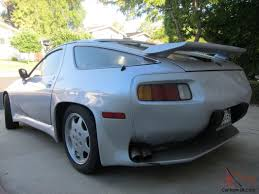 1982 porsche 928 porsche 928 unique custom conversion aerodynamic body styling