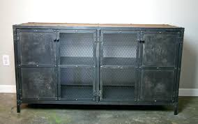 Metal Bar Cabinet Industrial Metal Furniture Inspiring Industrial Bar Cabinet Buy A