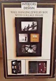 jewelry box photo frame jewelry box interiors by design wall hanging with collage picture