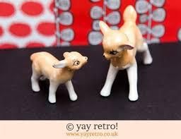 kitsch vintage deer ornaments vintage shop retro china