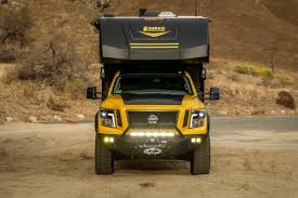 custom nissan cummins this custom nissan titan xd will take you camping literally