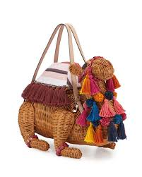 kate spade new york spice things up wicker camel bag natural multi
