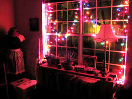 bedrooms with christmas lights christmas hanging christmass in bedroom ideas ideaschristmas for