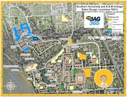 Map Of Florida Colleges by Campus Map Southern University And A U0026m College