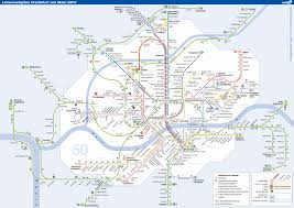 Metro Viena Map by Map Meter Frankfurt Frankfurt U Bahn Mapa Metro