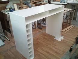 mobilier de bistrot fabriquer une table bar homeezy