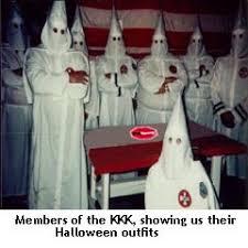 Klux Klan Halloween Costume Drumming Sense Kkk U2013 Funnycolumns
