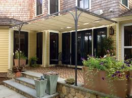 Retractable Awnings Boston Bronze And Fabric Retractable Awning Craftsman Boston By