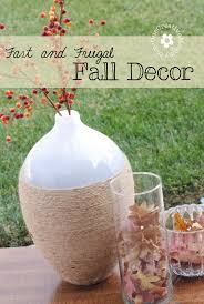 Cheap Fall Decorations Fast And Frugal Fall Decor Onecreativemommy Com