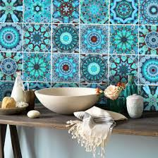 Wallpaper For Kitchen Backsplash by Wall Tile Decals Vinyl Sticker Waterproof Tile Or Wallpaper For