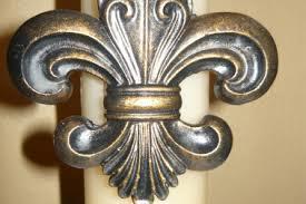 12 Gold Fleur De Lis Home Decor Gold Fleur De Lis Wall Decor Shop