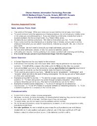 cover letter powerful resume examples powerful resume objective