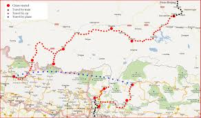 Maps Route by Maps And Route Of Himalayan Adventures