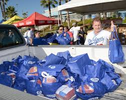 dodgers ladf with ralphs food4less hosts 11th annual community
