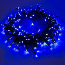 Solar Powered Icicle Lights by Christmas Fantastic Blue Christmas Lights Led Icicle Outdoor For