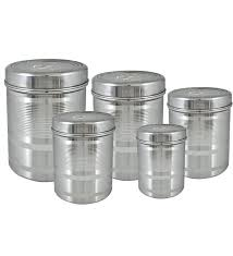 stainless kitchen canisters metal canister set of vintage kitchen canisters white