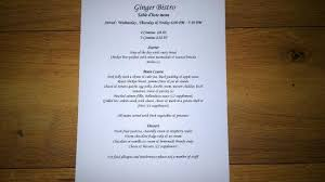 table d hote menu table d hote menu picture of ginger bistro liverpool tripadvisor