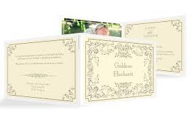 einladungskarten goldene hochzeit mit foto einladungskarten für die goldene hochzeit edel individuell