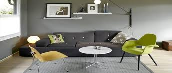 canap sol extraordinaire couleur gris salon vue salle familiale a deco idee