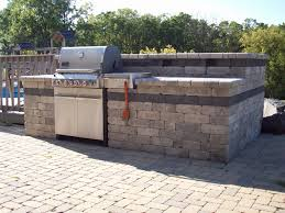 Outdoor Kitchen Bbq Outdoor Kitchen Island Stone Veneer Bbq Island Flagstone Veneer