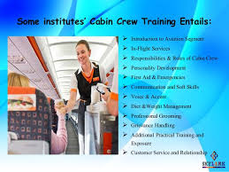 cabin crew description what you learn in cabin crew