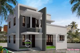 simple flat roof house 1540 sq ft kerala home design bloglovin u0027