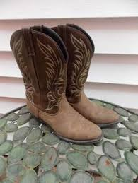 womens vintage cowboy boots size 9 wrangler square toe womens vintage cowboy boots size 9 m 4807