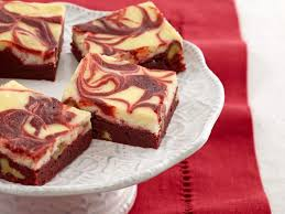 red velvet swirl brownies recipe sunny anderson food network