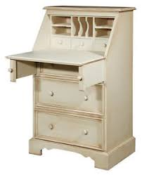 Shabby Chic Writing Desk by Painted Pine Shabby Country Chic Writing Desk Bureau Cream White
