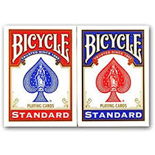 4 decks of bicycle cards 2 x 2 x blue co