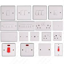 electrical light switches and sockets patch panel definition