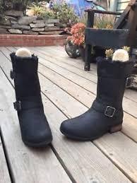 s oregon ugg boots 250 ugg australia oregon mid calf s boot black size 9 5