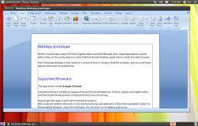 html5 u0027ribbon u0027 interface for web apps in the works omg ubuntu