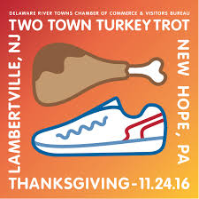 thanksgiving day calendar thanksgiving day two town turkey trot delaware river towns