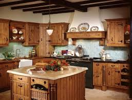 Red Country Kitchen Cabinets Country Kitchen Decor With Inspiration Hd Images 15792 Kaajmaaja